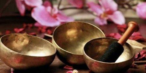 3 bols tibétains pour la sérénité, la paix de l'esprit